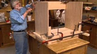 Cabinet Making Techniques Part 7: Assembling Face Frame Cabinets