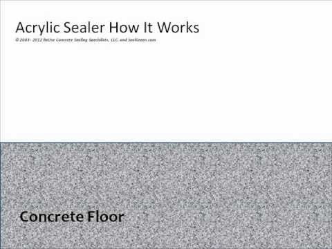 How Does An Acrylic Sealer How It Works Www.SealGreen.com 800-997-3873