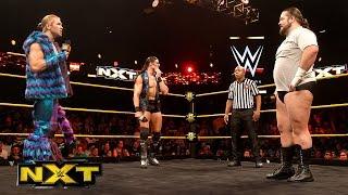 Bull Dempsey wants a match with Tyler Breeze: WWE NXT, September 16, 2015