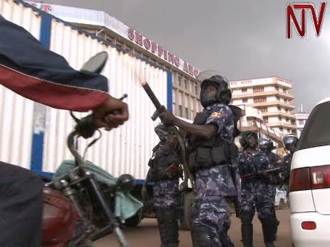 Heavy army and police deployment quells opposition demonstration in Kampala