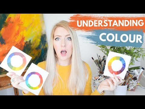 MIXING PAINT | Color Theory, Color Wheel & Exercises