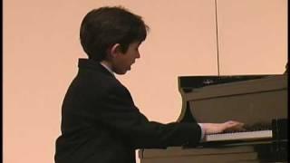 Ben Gottesman Piano - Prelude in C minor BWV 999 - Bach
