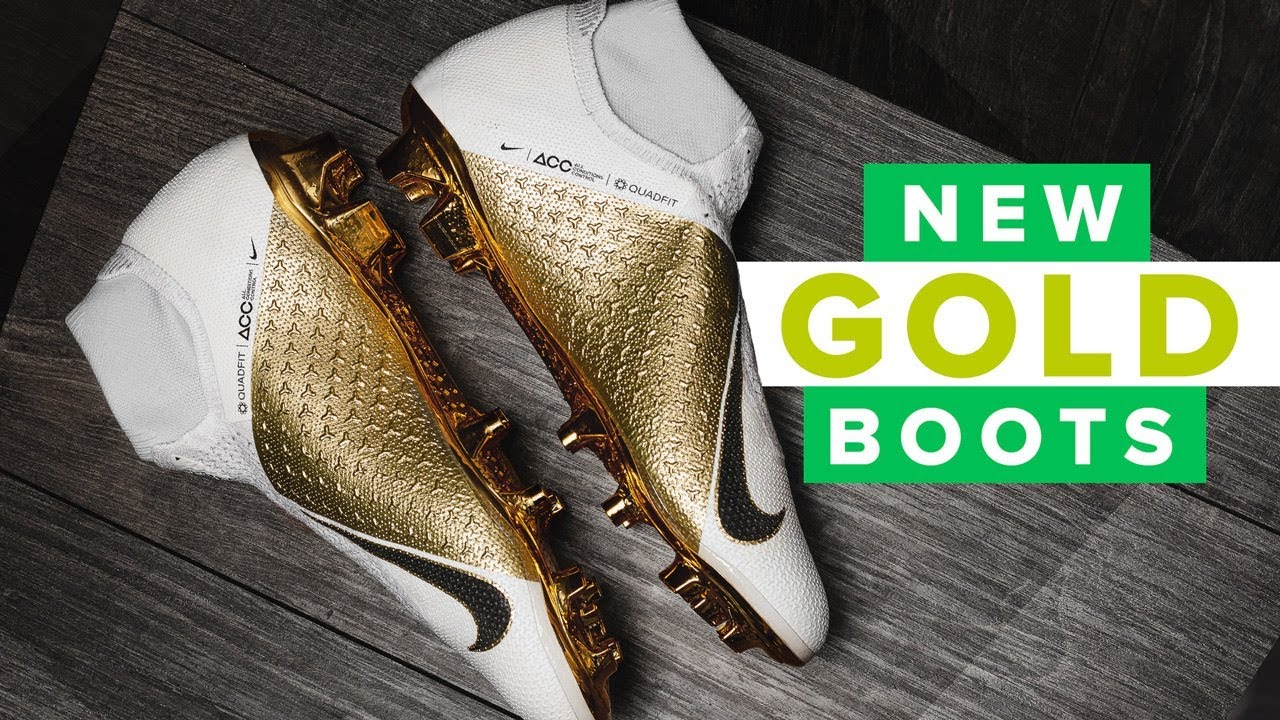 7d7f1311f ONLY 1,000 PAIRS - white and Gold Limited Edition Nike Phantom Vision