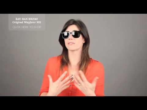 classic wayfarer 54mm sunglasses  Ray-Ban RB2140 Original Wayfarer 901 Sunglasses Review - Ray Ban ...