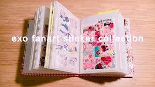 exo fanart sticker collection