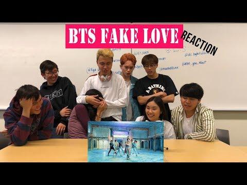 [APRICITY] K-pop Dancers React To BTS (방탄소년단) 'FAKE LOVE'