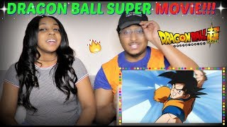 DRAGON BALL SUPER MOVIE OFFICIAL TEASER REACTION + EPISODE 130 REVIEW!!!