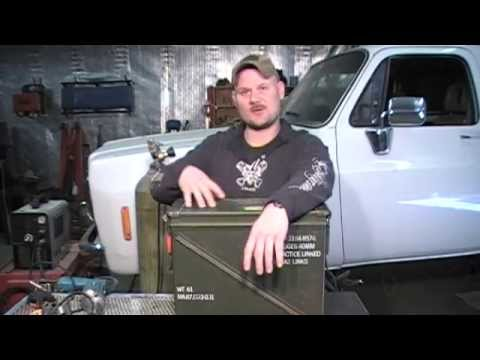 Ammo Can Wood Stove Kit, Build!! Camping, Survival, SHTF
