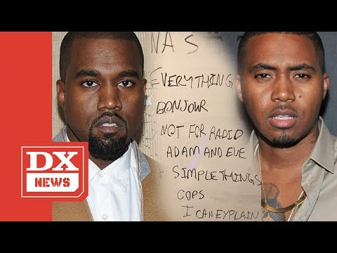 Nas Album Done! Kanye West Reveals New Nas Album Tracklisting