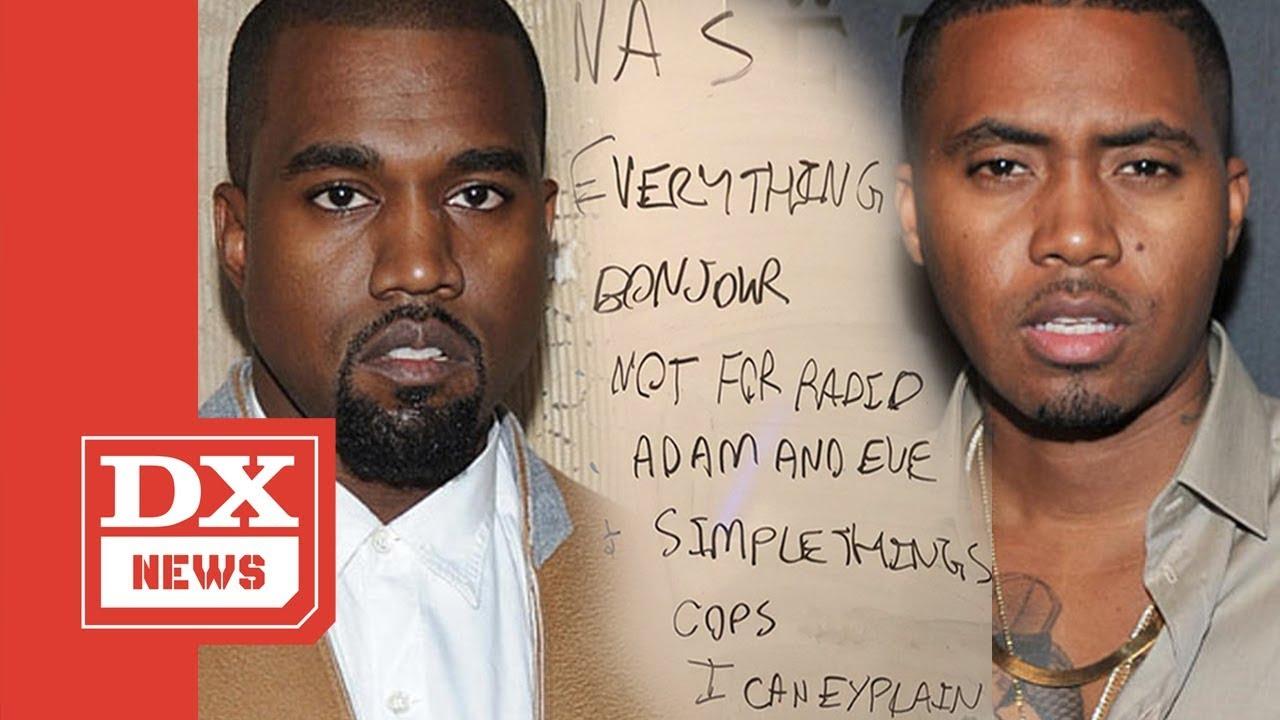 902ed931cb459 Nas Album Done! Kanye West Reveals New Nas Album Tracklisting - YouTube