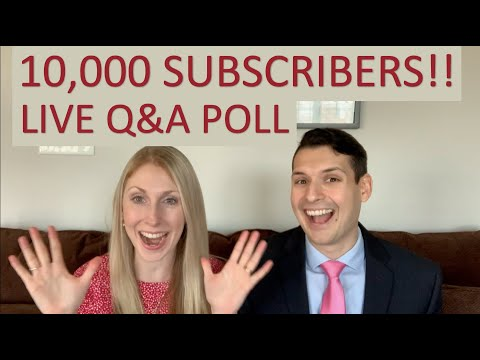 10,000 Subscribers Live Q&A Poll!