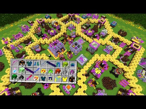 MEGA LUCKY BLOCKS CLASH OF CLANS BATTLE (LIVE)