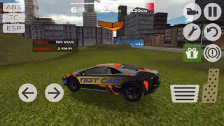 Extreme Car Driving Simulator #4 Hard Parkour Ride Android gameplay