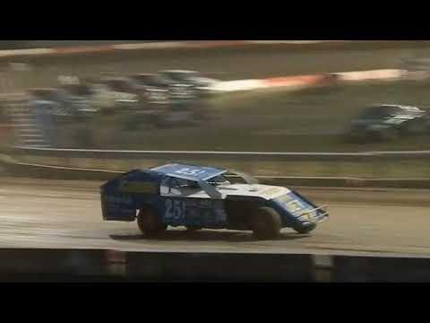 Trevor Baker 25! Modified Heat race Beatrice Speedway 8/18/2017
