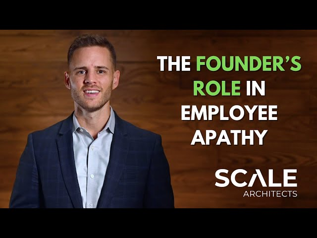 Why most founders suffer from self inflicted apathy in their business