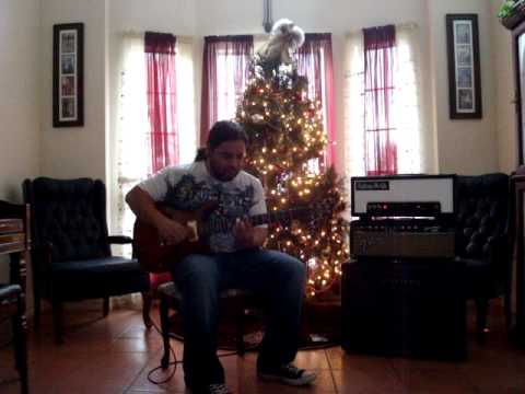The Christmas Song - Guitar solo (fast)