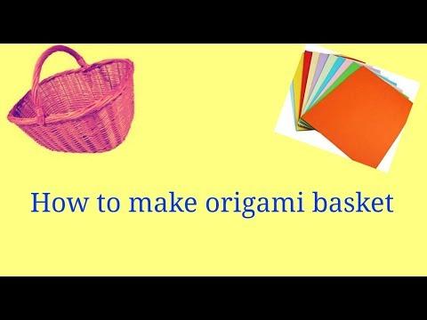 DIY Paper Basket : How to Make Easy Paper Basket for Gifts