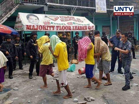 9 inmates, 1 pulis, sugatan sa riot sa Quezon City jail