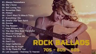 Download Slow Rock love song nonstop | Rock Ballad of The 70s, 80s, 90s | Best Rock Ballads 📻