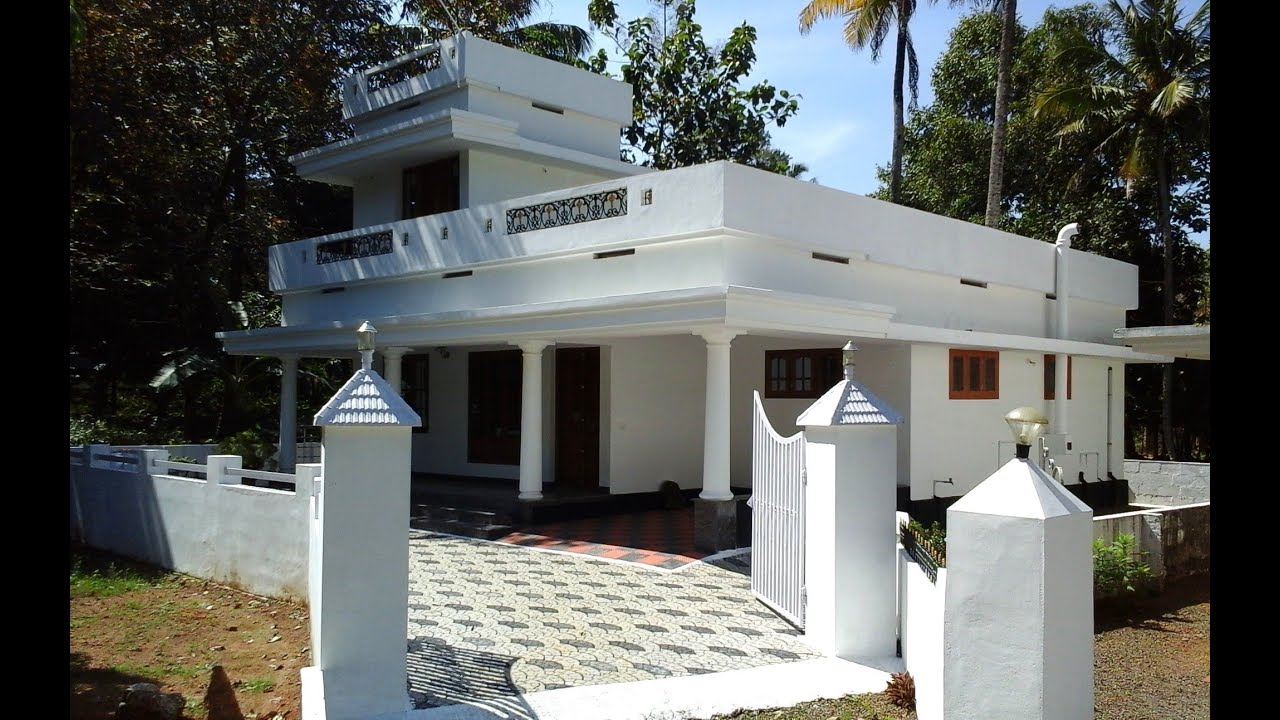 7 Cents Plot And 1 500 Sq Ft Low Budget House For Sale In Angamaly Kerala Youtube