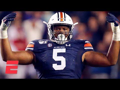 Derrick Brown's College Football Highlights | Auburn DT | 2020 NFL Draft