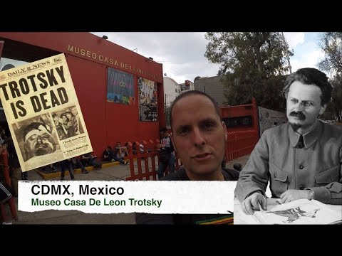 Visiting the Leon Trotsky Museum @ CDMX, Mexico