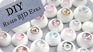 🌟 DIY BJD Eyes / How to Make Your OWN Resin Doll Eyes!