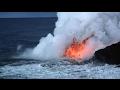 Ngeri Inilah Lava Yang Tercampur Dengan Air Laut,simak Videonya