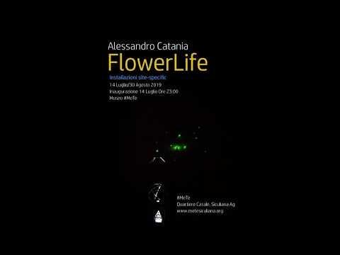 Agrigento delle Meraviglie - FlowerLife installazione site-specific al Museo #MeTe di Siculiana