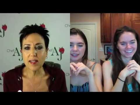 Healthy Living with Chef AJ  Guests Nina & Randa Nelson