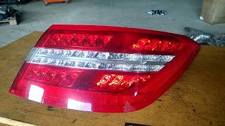 Фонарь задний правый Mercedes W212 W207 coupe A2078200264 купить дешево