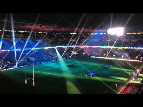 Swing low sweet chariot, Twickenham Rugby World Cup 2015