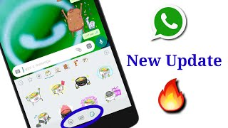 Stickers Feature in Whatsapp