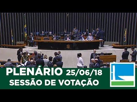PLENÁRIO - Sessão Deliberativa - 25/06/2018 - 20:00