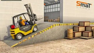 Lifter Cargo Simulator 3D Fork-lifter - Anoride GamePlay (by Door to apps).