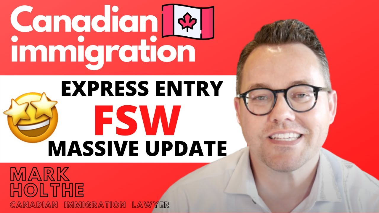 """""""HUGE NEWS!!! Canada will resume Express Entry FSW draws in 2020!"""