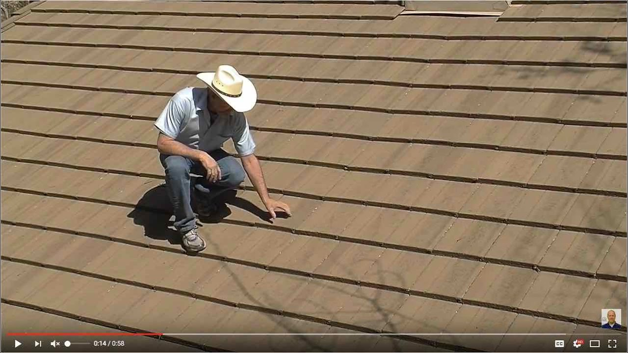 Walking On Concrete Tile Roofs Youtube