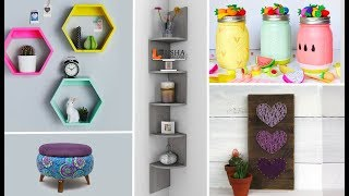 DIY Room Decor & Organization For 2018 - EASY & INEXPENSIVE Ideas! Compilation#58