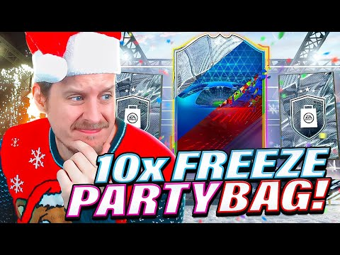 PARTY BAGS ARE HERE! 10X FREEZE PARTY BAG PACKS! FIFA 21 Ultimate Team