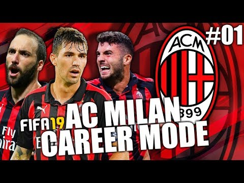 FIFA 19 | AC MILAN CAREER MODE | #01 | HE'S BACK!