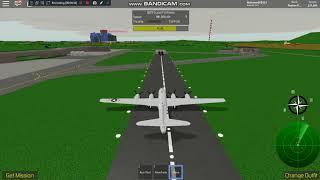 Fliegen Deftb29 in Roblox ( Pilot Training Flight Simulator ) Airbase Garry--Mellor Airport.w