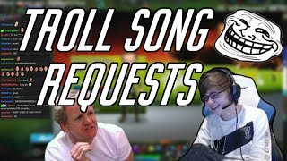 C9 Sneaky | Troll Song Requests (ft. Meteos)