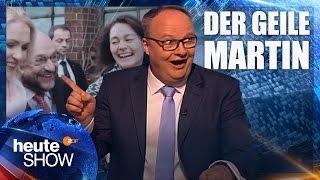 100 Prozent Zustimmung: Martin Schulz ist Kanzlerkandidat der SPD | heute-show vom 24.03.2017