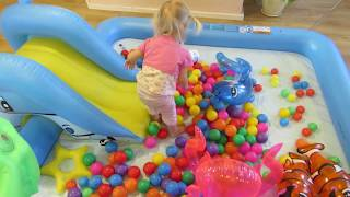 Fun Pool from Water Playground , Ball Pit Fun and inflatable slides