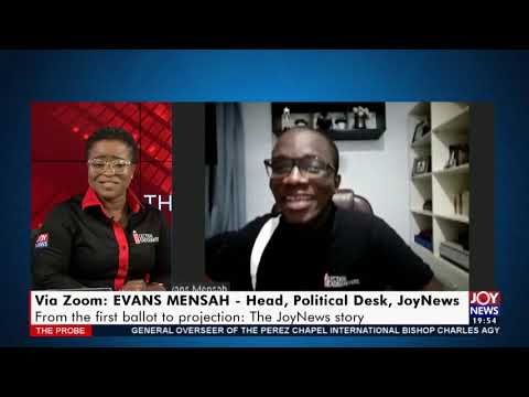 Election 2020 Coverage: from the first ballot to projection - The Probe on JoyNews (14-12-20)