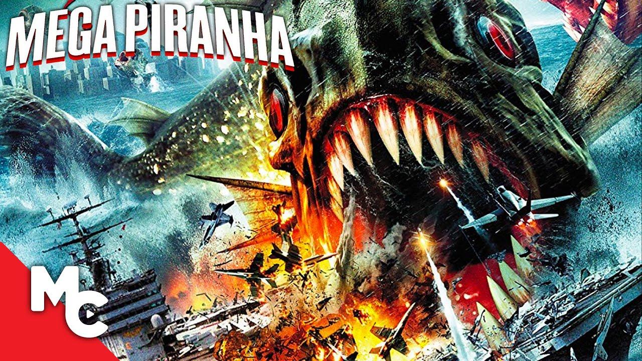 Mega Piranha | Full Action Adventure Movie
