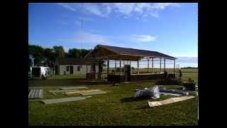 Pole Barn Construction - Hansen Buildings 30' X 40' Custom Pole Building