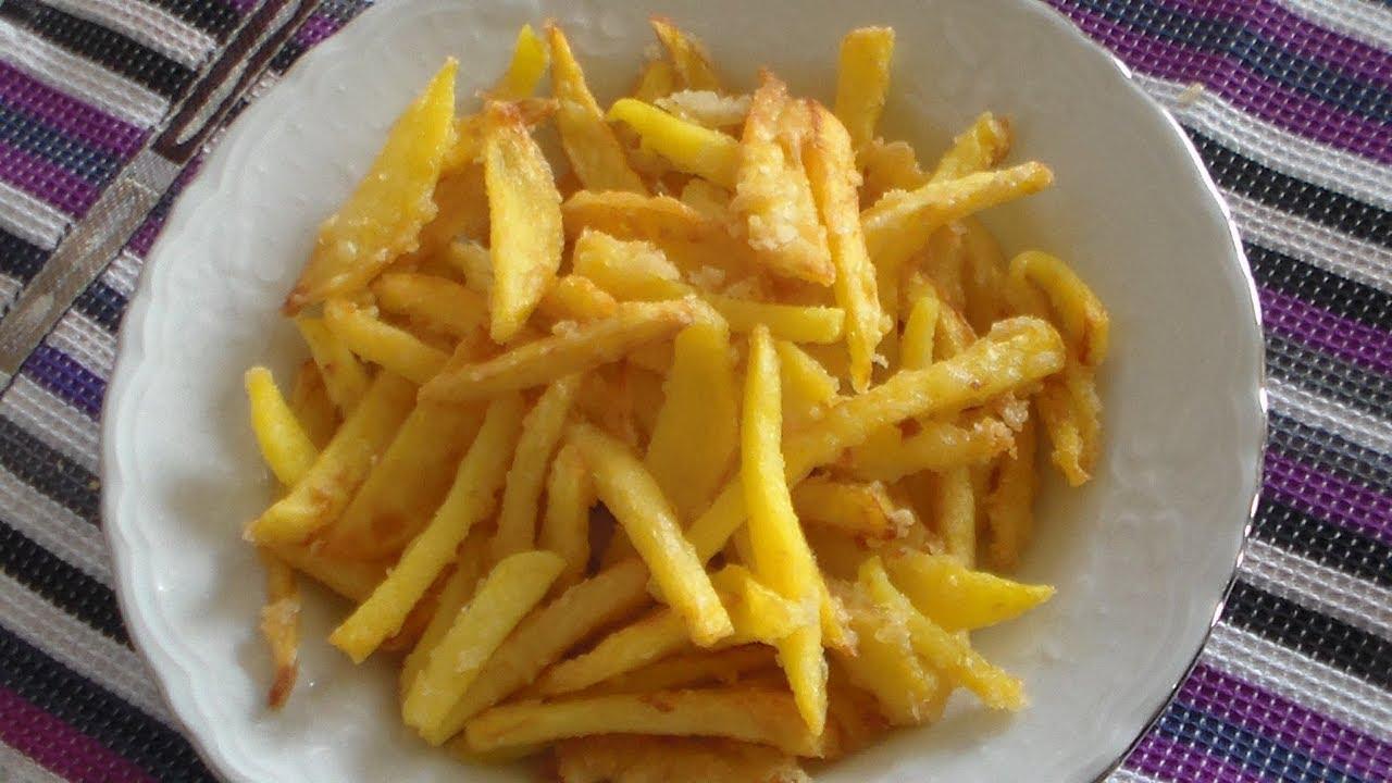 Çıtır Patates Kızartması Tarifi
