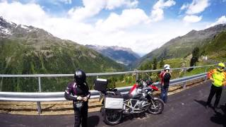 Europe motorbike tour - Day 4 Germany to Italy via the Alps