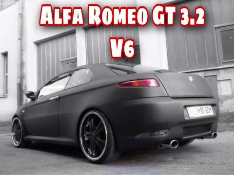 alfa romeo gt 3 2 v6 matte black youtube. Black Bedroom Furniture Sets. Home Design Ideas